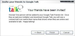 Google Talk Invite